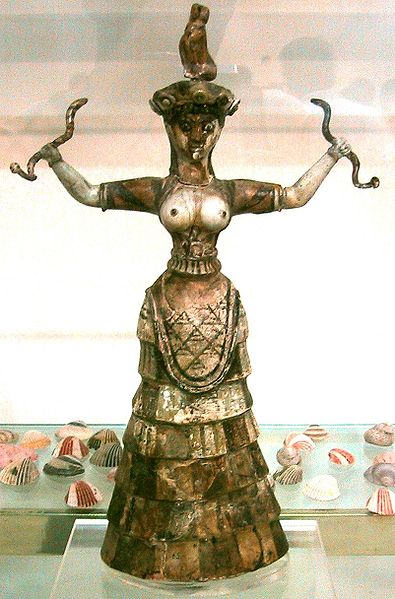 395px-Snake_Goddess_Crete_1600BC