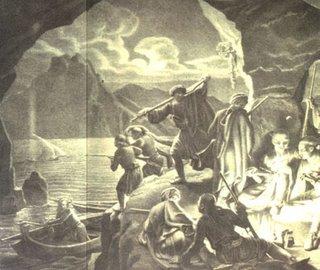 Οι πειρατές έστηναν ενέδρες και σε πλοιάρια που προσέγγιζαν τη στεριά.
