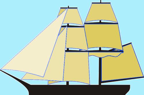 brig-sails