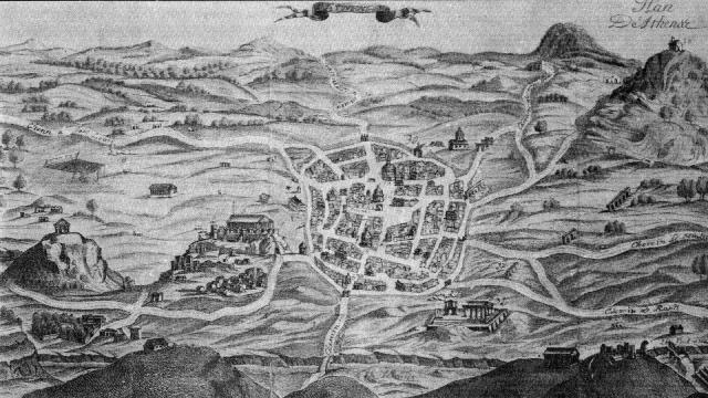 Η Αθήνα γύρω στα 1700
