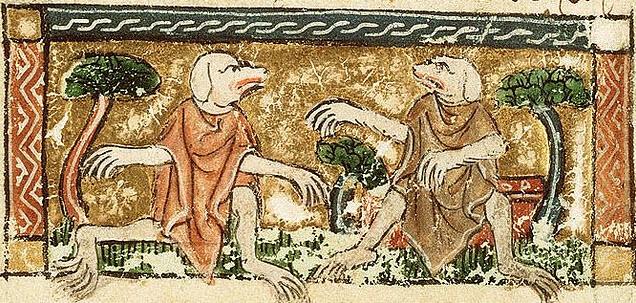 Cynocephali - dog-headed men
