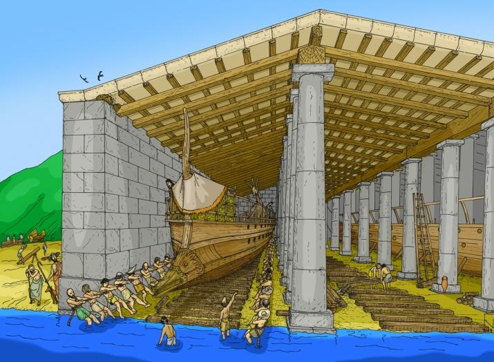 Αποτέλεσμα εικόνας για αρχαίος πειραιάς