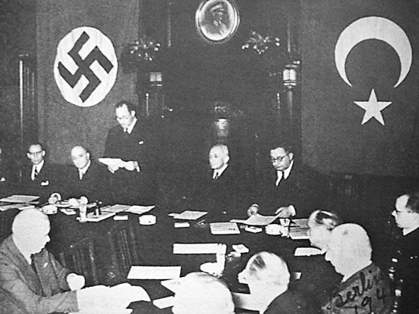 18 Ιουνίου 1941: Σύμφωνο φιλίας και μη επίθεσης ναζιστικής Γερμανίας – Τουρκίας