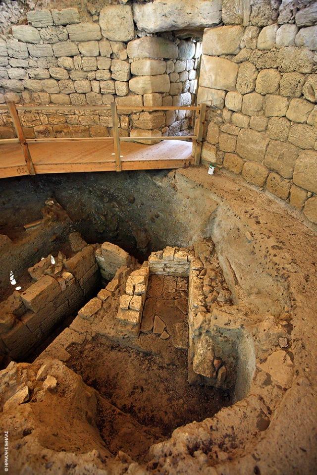 Κτίσμα του 1350 - 1000 π.Χ. ο μυκηναϊκός τάφος της Τζανάτας