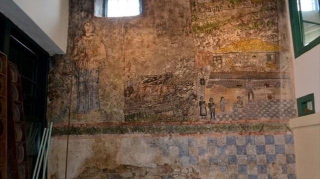 Τοιχογραφία του Θεόφιλου