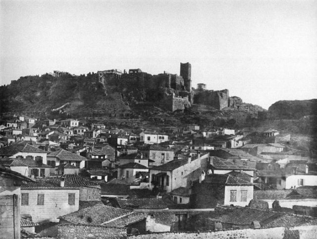Acropolis-1851-photograph-by-John-Shaw-Smith.-700x528
