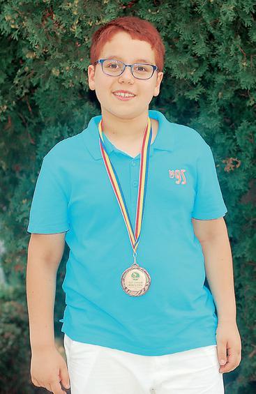 Ο 9χρονος Ορέστης Λιγνός.