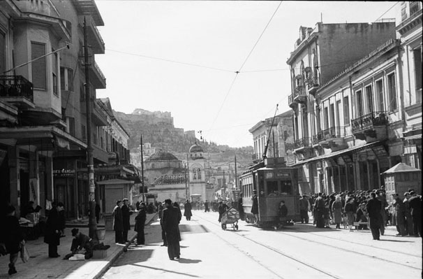 Athens Athinas Str. 1945 by Lancers17th21st