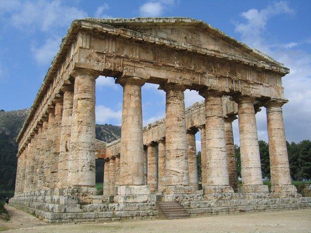 Δωρικός ναός, Σεγκέστα, Σικελία