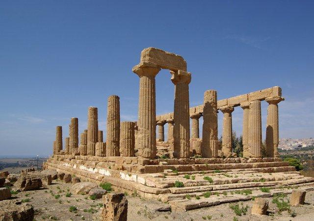 Κοιλάδα των Ελληνικών ναών, Σικελία