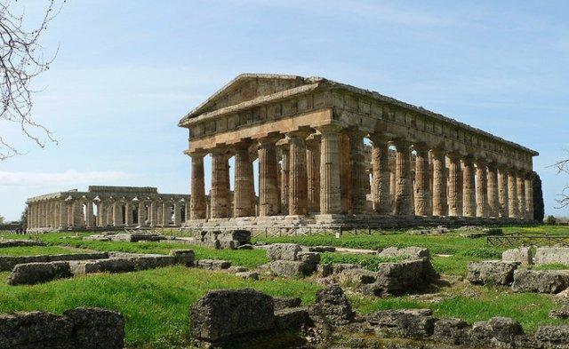 Ναός της Ήρας, Πέστουμ, Ιταλία